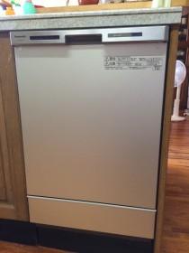パナソニック製ビルトイン食器洗い乾燥機