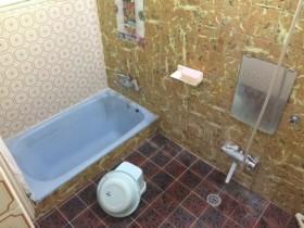 リフォーム前のお風呂場