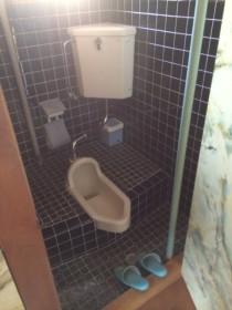 リフォーム前の和式トイレ
