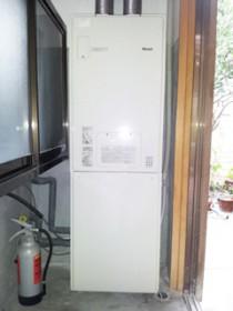 給湯と暖房を1台でこなす!<br /> 高効率省エネガス機器エコジョーズ